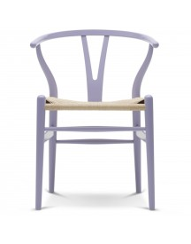 Carl Hansen & Son Ch24 Wishbone Stoel Colours Natural Light Purple afbeelding