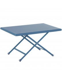 Emu Arc En Ciel Folding Coffee Table Salontafel Blue 70x50 afbeelding