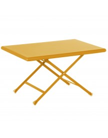 Emu Arc En Ciel Folding Coffee Table Salontafel Orange 70x50 afbeelding