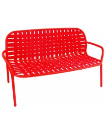 Emu Yard Two Seats Sofa Scarlet Red/red afbeelding