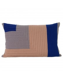 Ferm Living Angle Knit Kussen 60x40 afbeelding