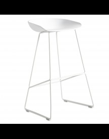 Hay About A Stool Aas38 Barkruk Wit Onderstel Wit 65 Cm afbeelding