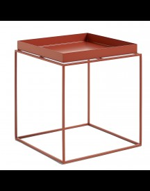 Hay Tray Table Rood Medium 40x40 afbeelding