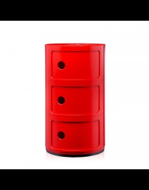 Kartell Componibili Large (3 Comp.) Rood afbeelding