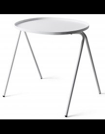 Menu Afteroom Side Table Bijzettafel Wit 50x45 afbeelding