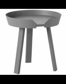 Muuto Around Coffee Salontafel Small Donkergrijs 45 afbeelding