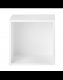 Muuto Stacked Kast Met Backboard Medium Wit afbeelding