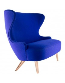 Tom Dixon Wingback Micro Copper Bank Zwart afbeelding