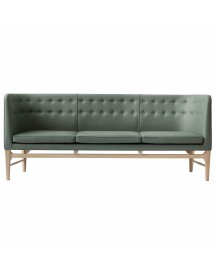 &tradition Mayor Sofa Onderstel Wit Geolied Eiken Bekleding Divina 3 944 afbeelding
