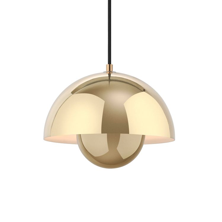 Image &tradition Flowerpot Hanglamp Polished Brass