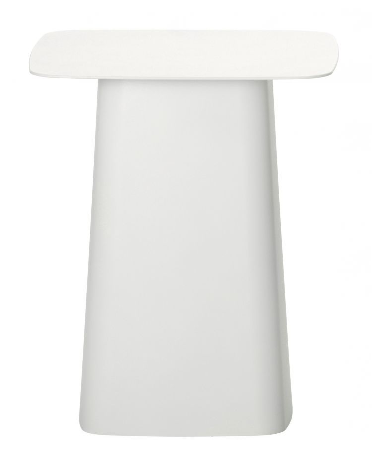 Image Vitra Metal Side Table Bijzettafel Wit Middel