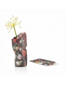 Paper Vase Cover Small Still Life With Fowers afbeelding