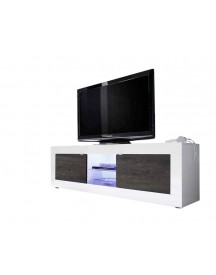 Benvenuto Design Modena Tv Meubel Big Hg Wit/wenge afbeelding