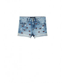 Hello Kitty Denim Shorts afbeelding