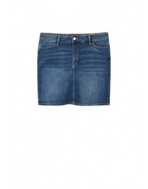 Medium Denim Rok afbeelding