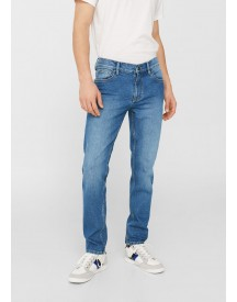 Jan Slim-fit Jeans Met Medium Wassing afbeelding