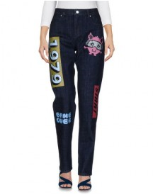 American Retro Denim Trousers Female afbeelding