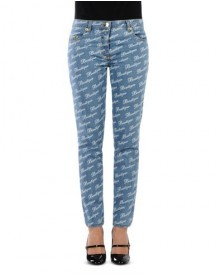 Boutique Moschino Denim Trousers Female afbeelding