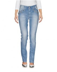 Coccapani Trend Denim Trousers Female afbeelding