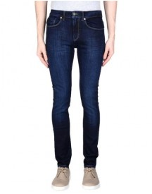 Dirk Bikkembergs Sport Couture Denim Trousers Male afbeelding