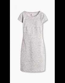 Esprit Kokerjurk Van Jersey/stretch Medium Grey For Women afbeelding