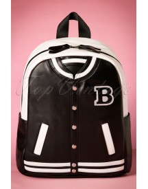 50s Baseball Jacket Backpack afbeelding