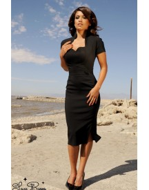 Veronica Dress In Black Heart afbeelding