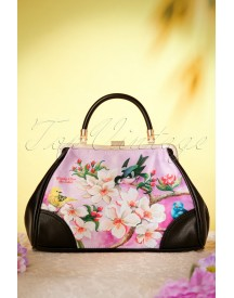 50s Bloom Retro Handbag afbeelding