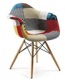 Patchwork Armchair - Kave Home afbeelding