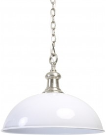 Demi Dome Hanglamp S Wit - Light & Living afbeelding