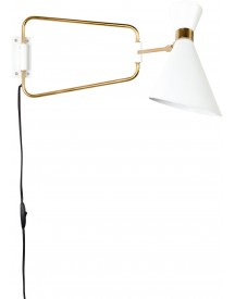 Shady Wandlamp Wit - Zuiver afbeelding