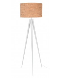 Tripod Lamp Cork Wit - Zuiver afbeelding