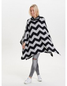 Nu 15% Korting: Only Zigzag Print Poncho afbeelding