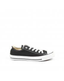 Converse All Star Ox Black Mono Leather afbeelding
