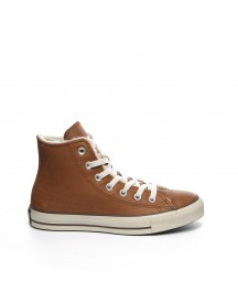 Converse Sneakers Model All Star Leather Shearling Hi afbeelding
