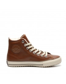 Converse Sneakers Model Boot Hi Brown afbeelding
