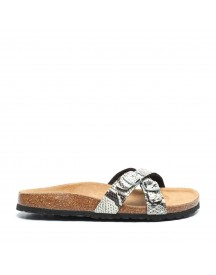 Hush Puppies Slangenprint Slippers afbeelding
