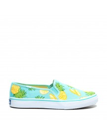 Keds Double Decker Fruit Text-light afbeelding