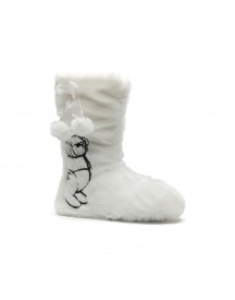 Scapino Witte Pantoffels afbeelding