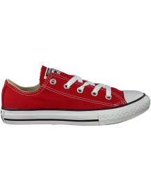 Rode Converse Sneakers Ox Core K afbeelding
