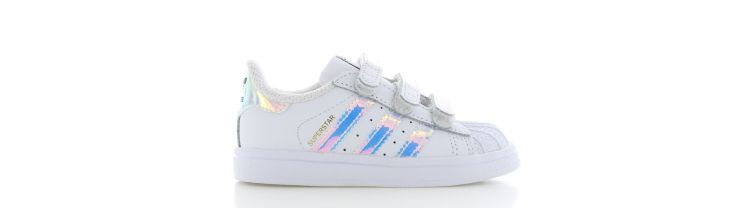 Image Adidas Superstar Cf White Holographic Kids