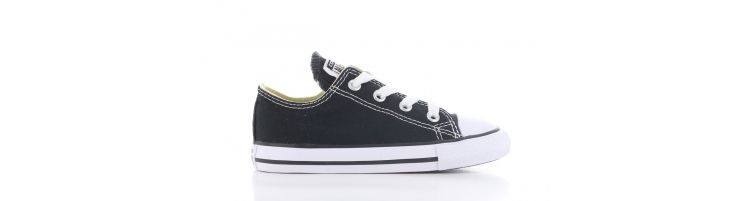 Image Converse All Star Ox Low Black Baby
