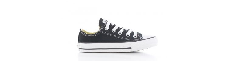 Image Converse All Star Ox Low Black Kids
