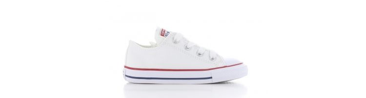 Image Converse All Star Ox Low White Baby