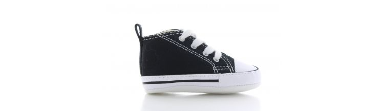 Image Converse First Star Hi Black Baby