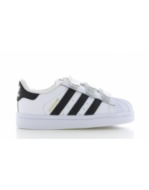 Adidas Superstar White Core Black Kids afbeelding