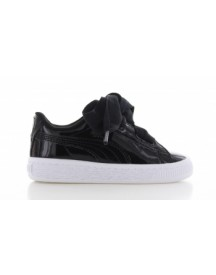 Puma Basket Heart Patent Black Kids afbeelding