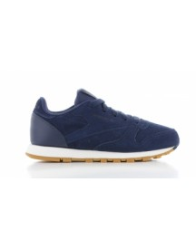 Reebok Classic Leather Collegiate Navy Kids afbeelding