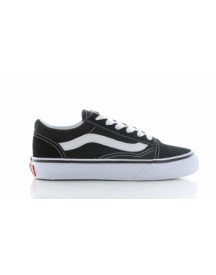 Vans Old Skool Black True White Kids afbeelding
