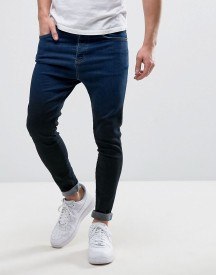 11 Degrees Super Skinny Jeans In Faded Blue afbeelding